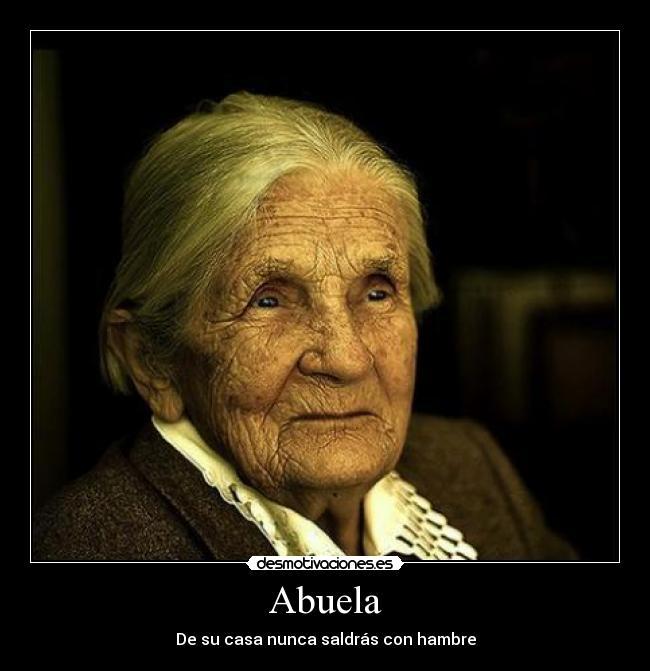 el amor de una abuela