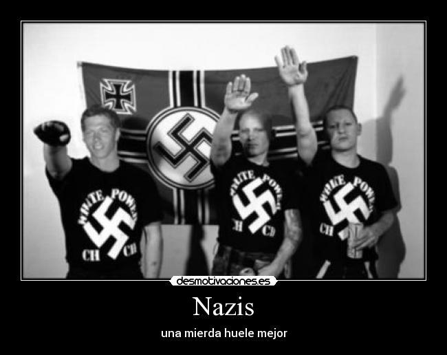 Diferencias entre Nazis,Neo nazis,Skins y Fachas 1 de