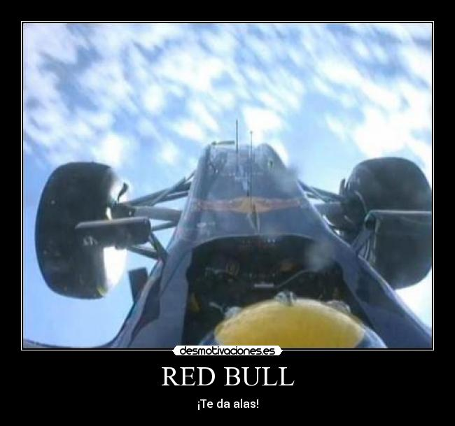 RED BULL - ¡Te da alas!