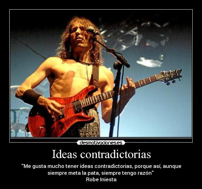 Ideas Contradictorias Desmotivaciones