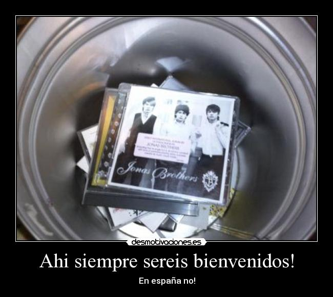 carteles anti jonas brother desmotivaciones