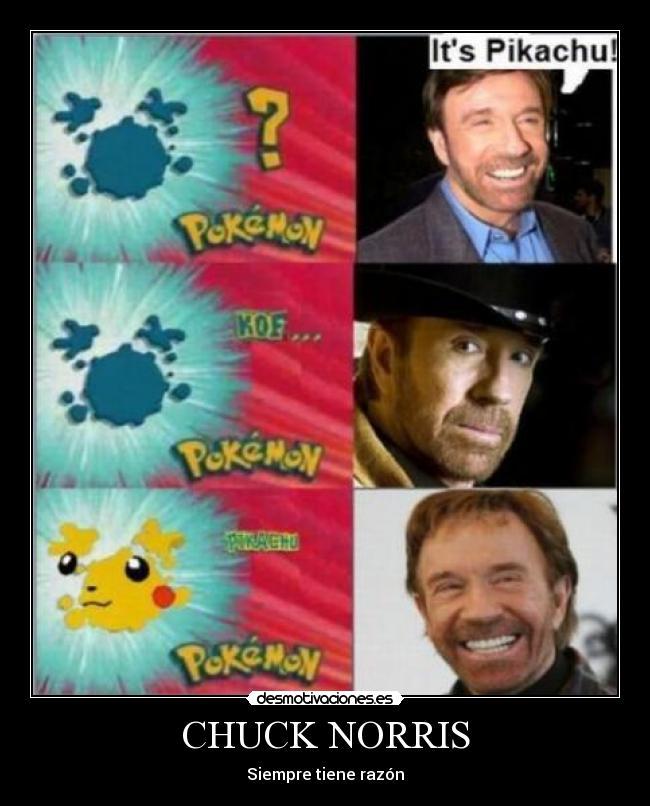 Megapost de Chuck Norris (muérete de risa, imágenes, frase