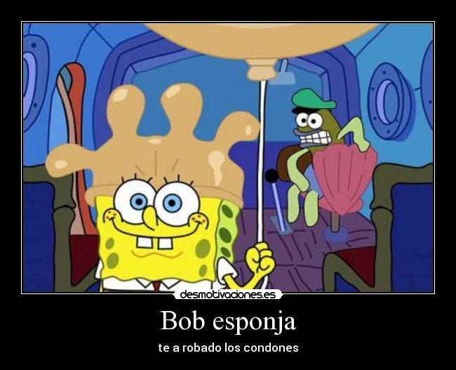 Bob esponja | Desmotivaciones