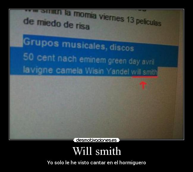 carteles will smith cantante musica actor desmotivaciones
