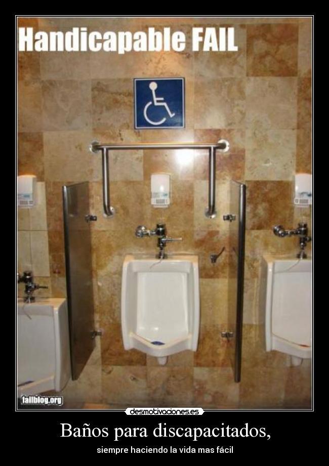 Ba os para discapacitados desmotivaciones - Banos para discapacitados ...