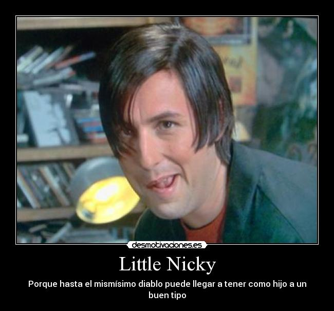 Little Nicky Little nickyLittle Nicky Tithead