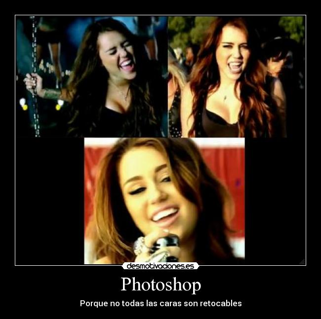 carteles miley cyrus photoshop fail desmotivaciones