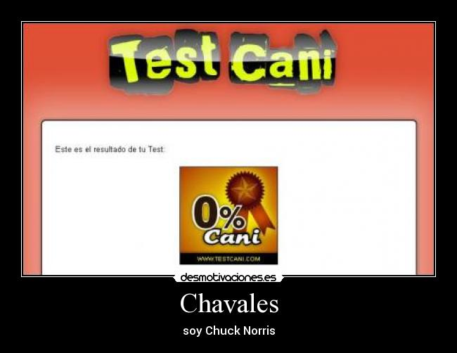 Chavales - soy Chuck Norris