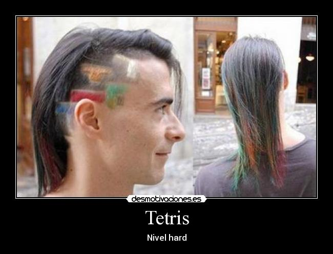 Tetris - Nivel hard