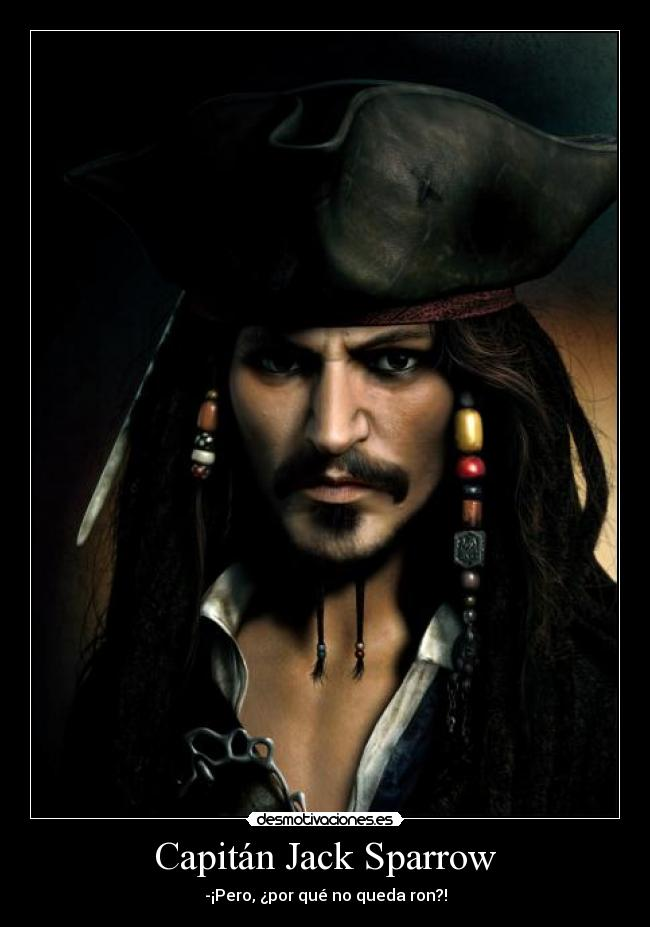 Capitán Jack Sparrow - - Captain_Jack_Sparrow_by_JPRart