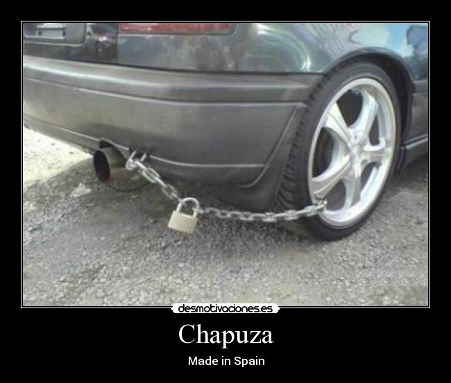 Chapuza - Made in Spain