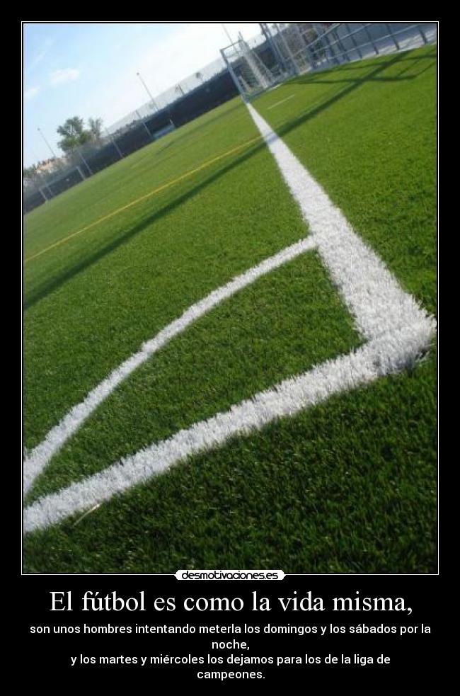 futbol como: