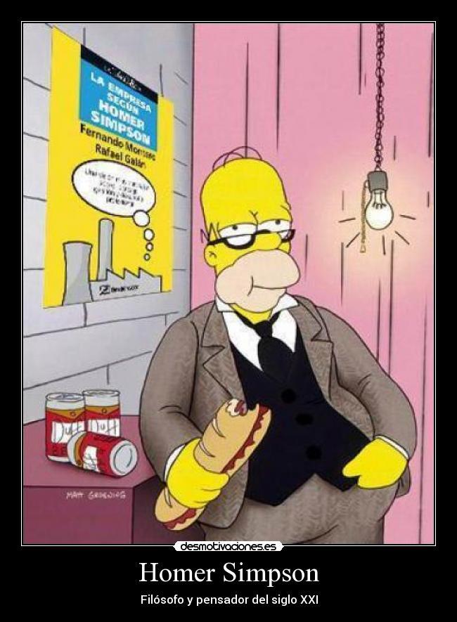 Los Simpson Homer Empresa Internet