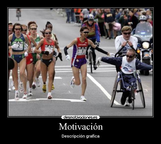 carteles motivaciondescripciongraficadiscapacitadomaratontriatlon desmotivaciones