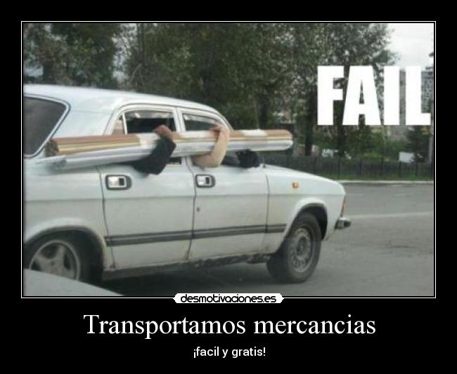 Transportamos mercancias - ¡facil y gratis!
