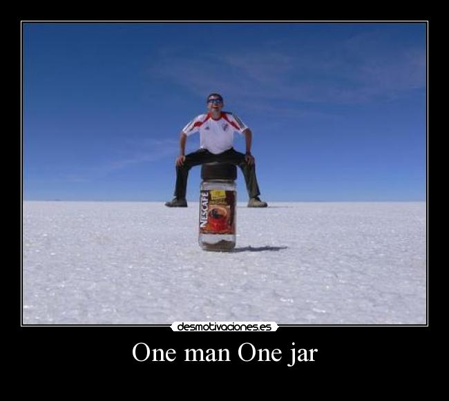 One Man One Jar 92