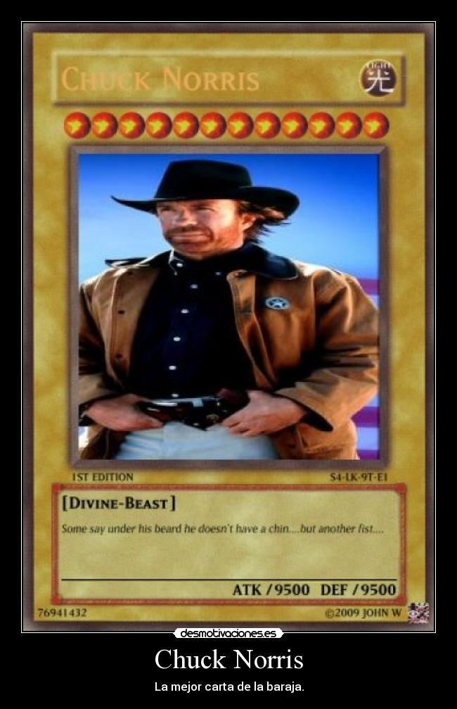 Carteles Chuck Norris Desmotivaciones