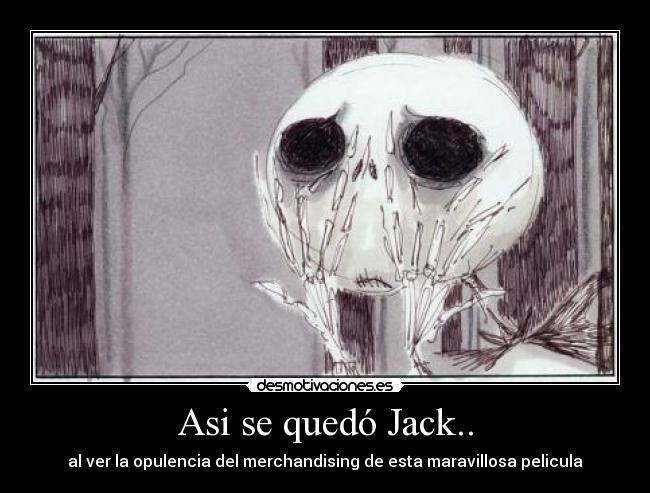 carteles tin burton jack skelleton nightmare before christmas pesadillas antes navidad desmotivaciones