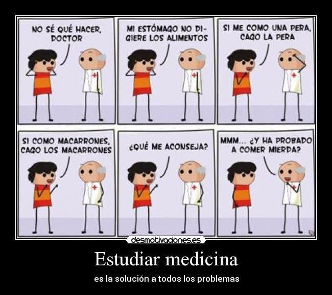 carteles medicos desmotivaciones