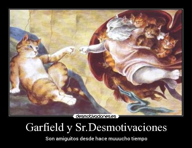 Garfield Y Sr Desmotivaciones   Desmotivaciones Es