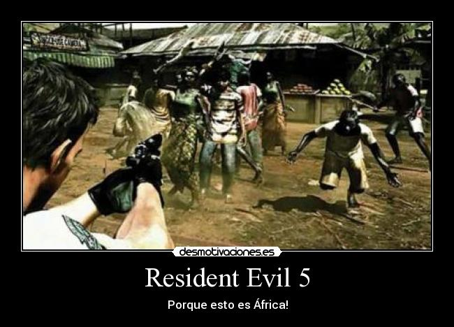 carteles resident evil playstaion waka waka desmotivaciones