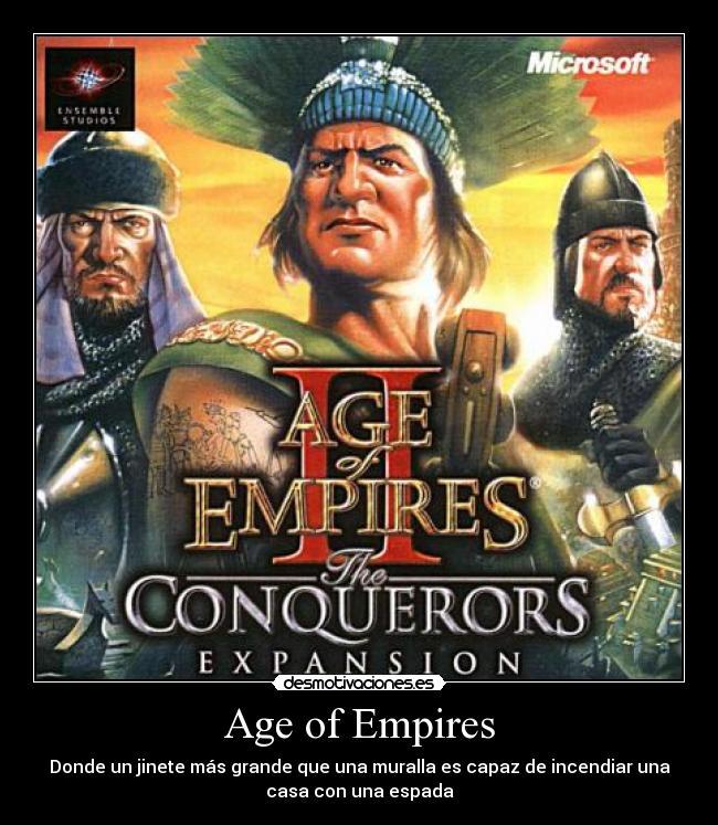 age of empire desmotiva