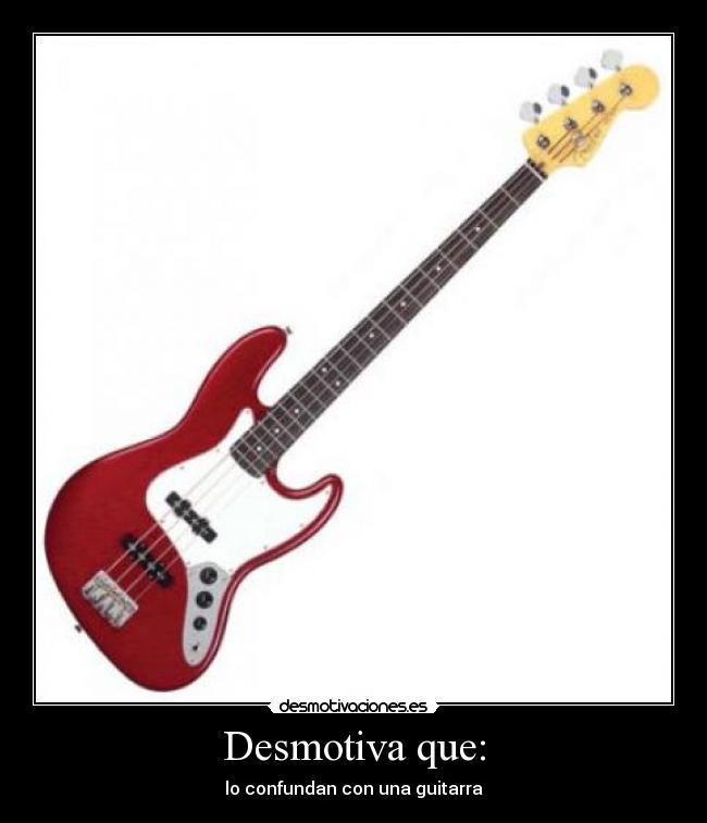 gitarra bajo: