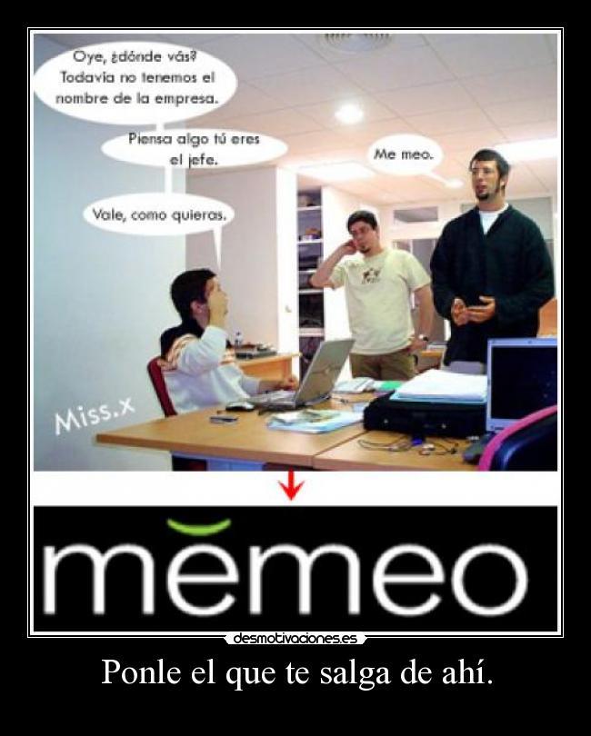 carteles de empresa: