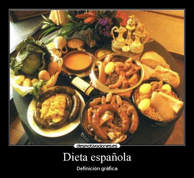 Dieta de espa a comiendo dieta correcta - Dieta comiendo de todo ...