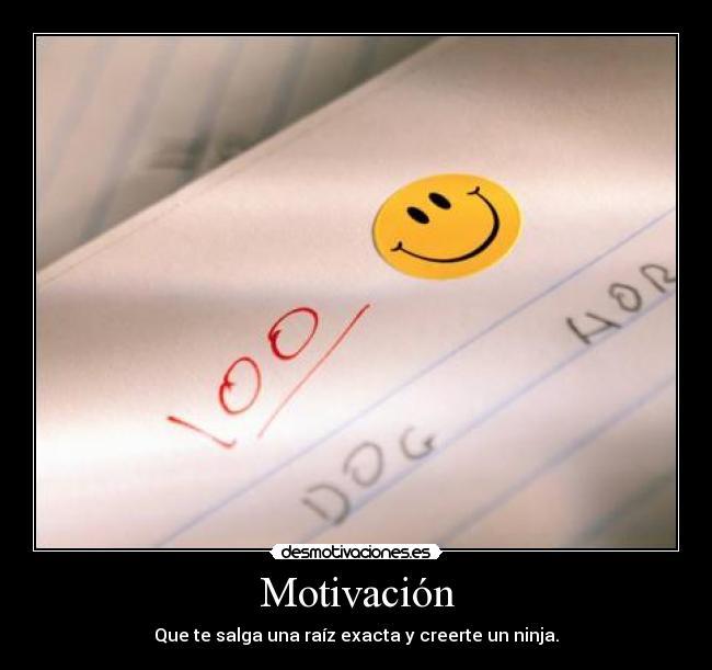 Motivación | Desmotivaciones