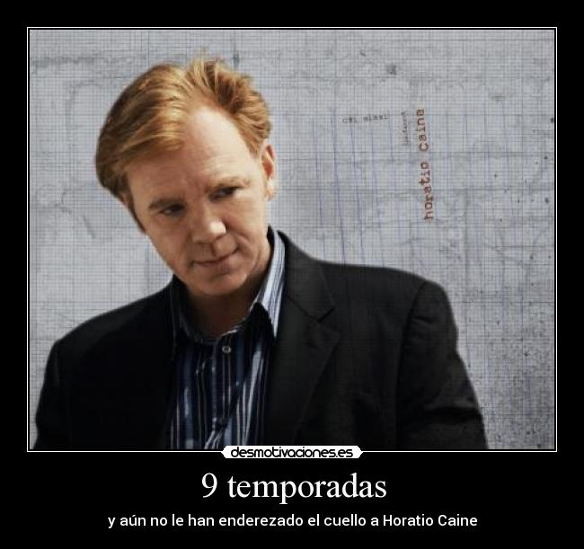 carteles csi miami horatio caine david caruso desmotivaciones