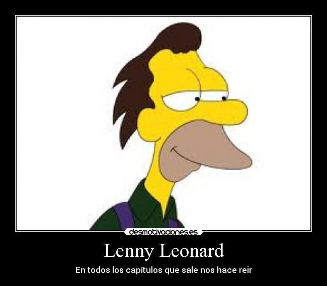 lenny simpsons: