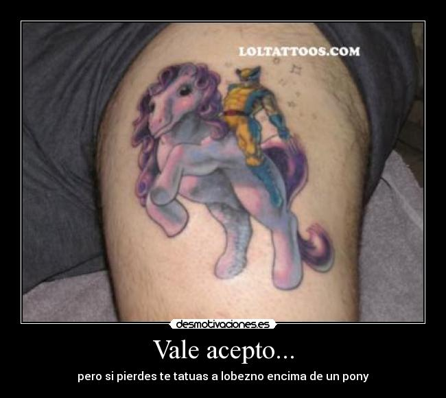 Lol Tattoos Wolverine Little Pony Funny Tattoojpg Picture