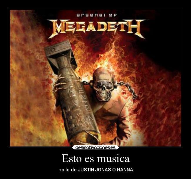 Megadeth - desmotivaciones