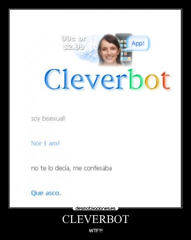 CLEVERBOT - WTF?!