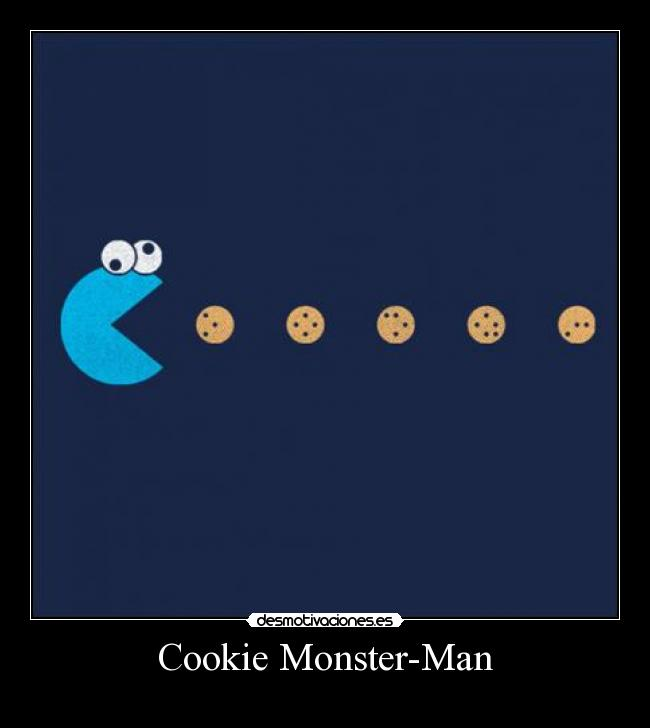 Cookie Monster-Man -