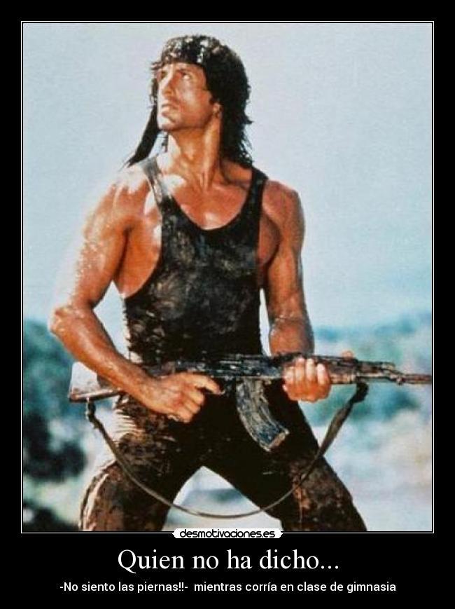 Si te gusta Rambo Entra ... [Megapost]