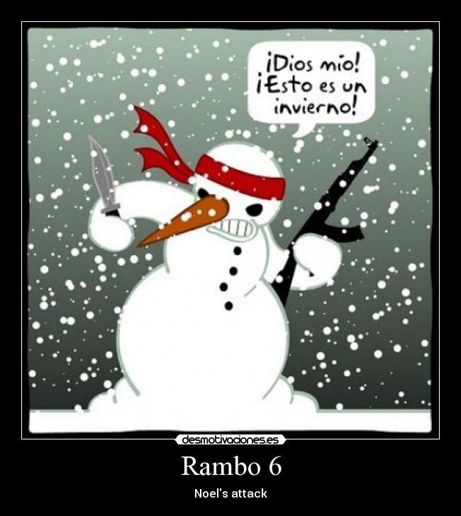 Rambo 6   Desmotivaciones