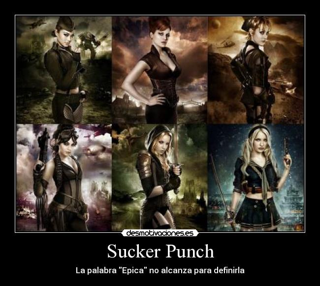 carteles sucker punch desmotivaciones
