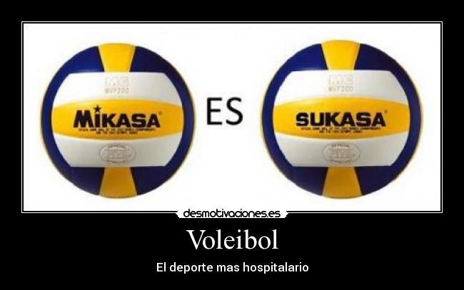 carteles voleibol deportes desmotivaciones