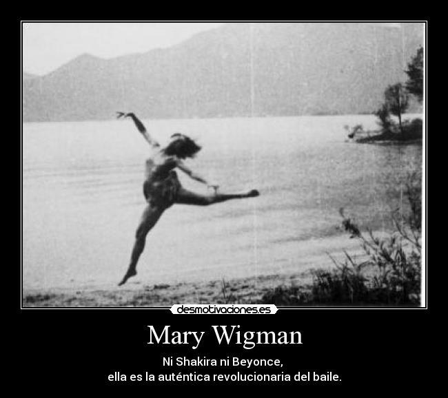 Mary Wigman Danza Carteles Mary Wigman Danza