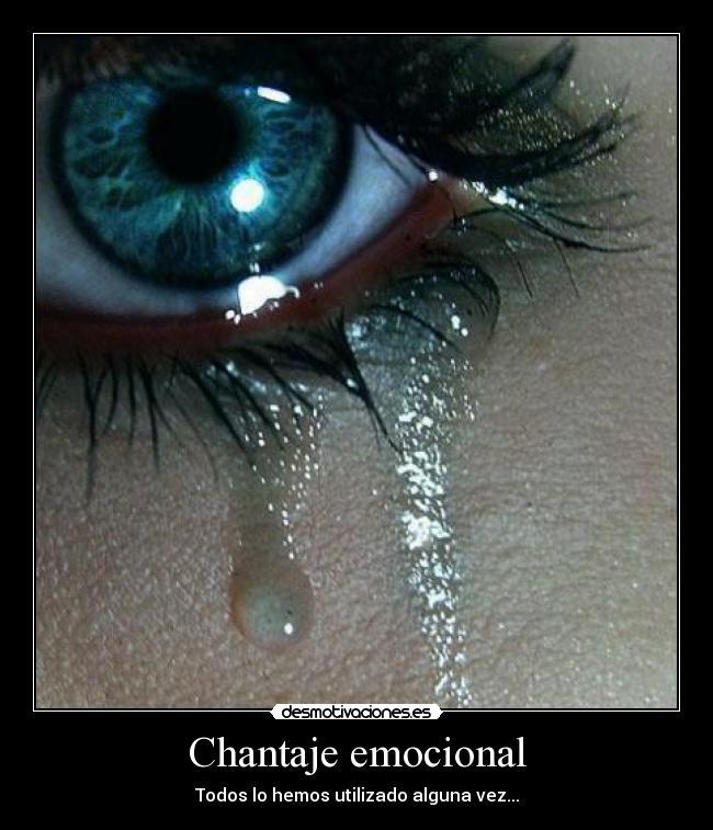 Chantaje Emocional Desmotivaciones