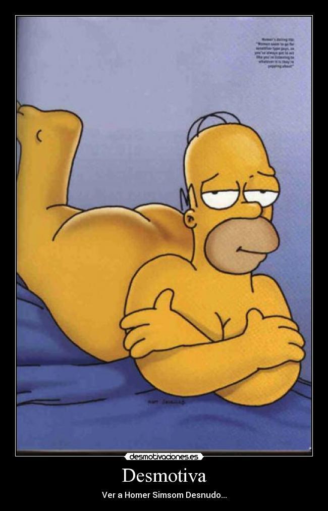 симпсоны голые картинки