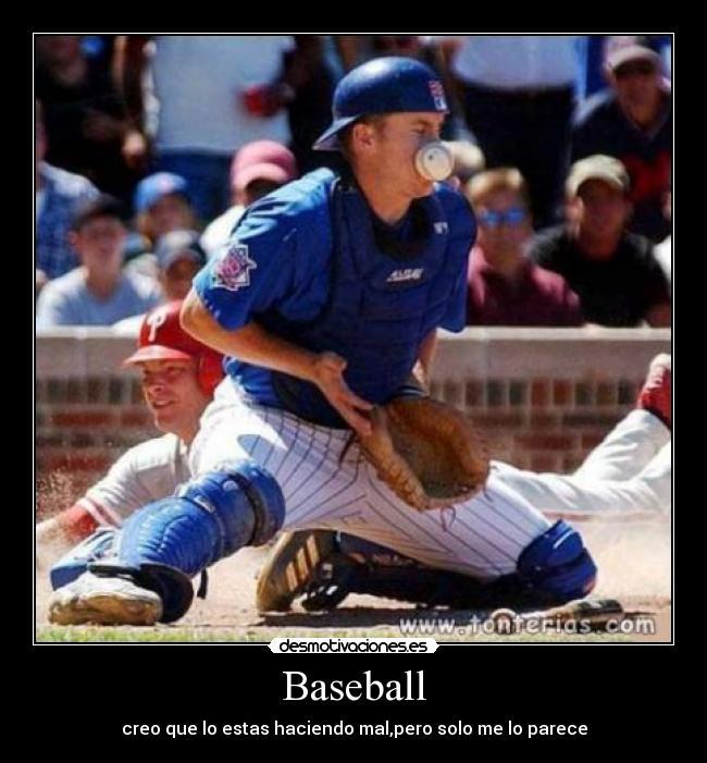 carteles baseball fail desmotivaciones