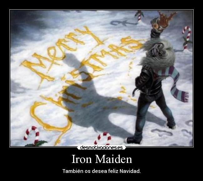 Desmotivaciones Iron Maiden