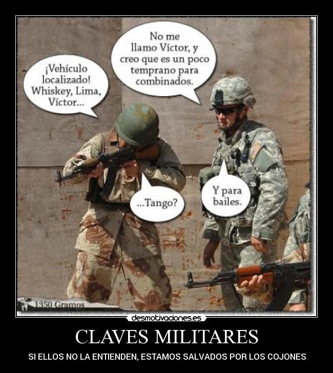 Fuentes de Información - Desmotivaciones Militares