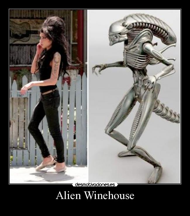 carteles amy alien winehouse desmotivaciones