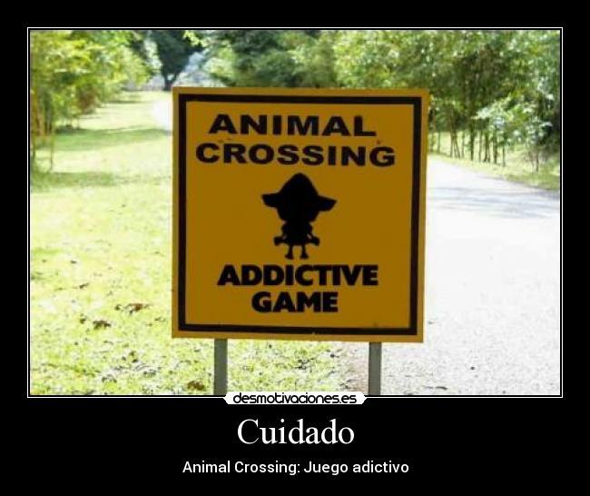 Cuidado - Animal Crossing: Juego adictivo