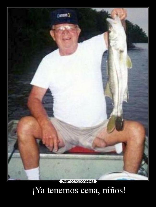 pescado en forma de pene