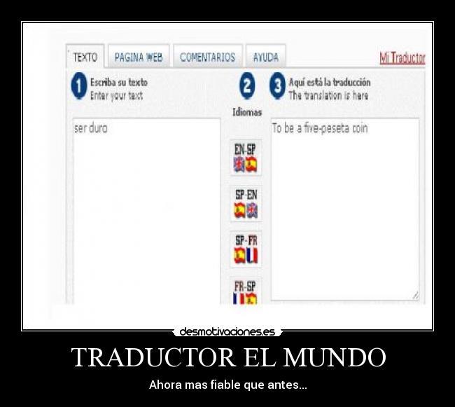 mundo traducctor: